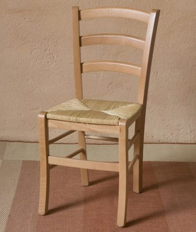 Silla rustica natural