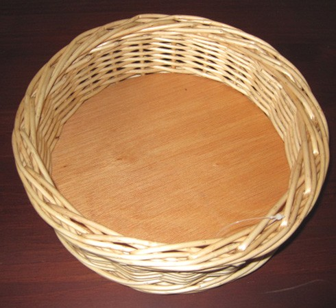 Panera del tesoro de madera