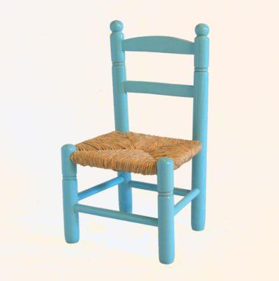 Cadireta 28 blau cel